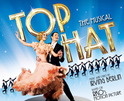 Jennifer Michie Top Hat Musical Poster