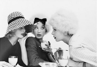 Norman Parkinson Girl Talk