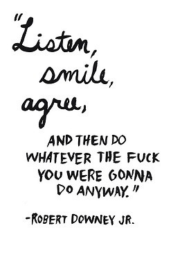 Listen, Smile, Robert Downey Jr