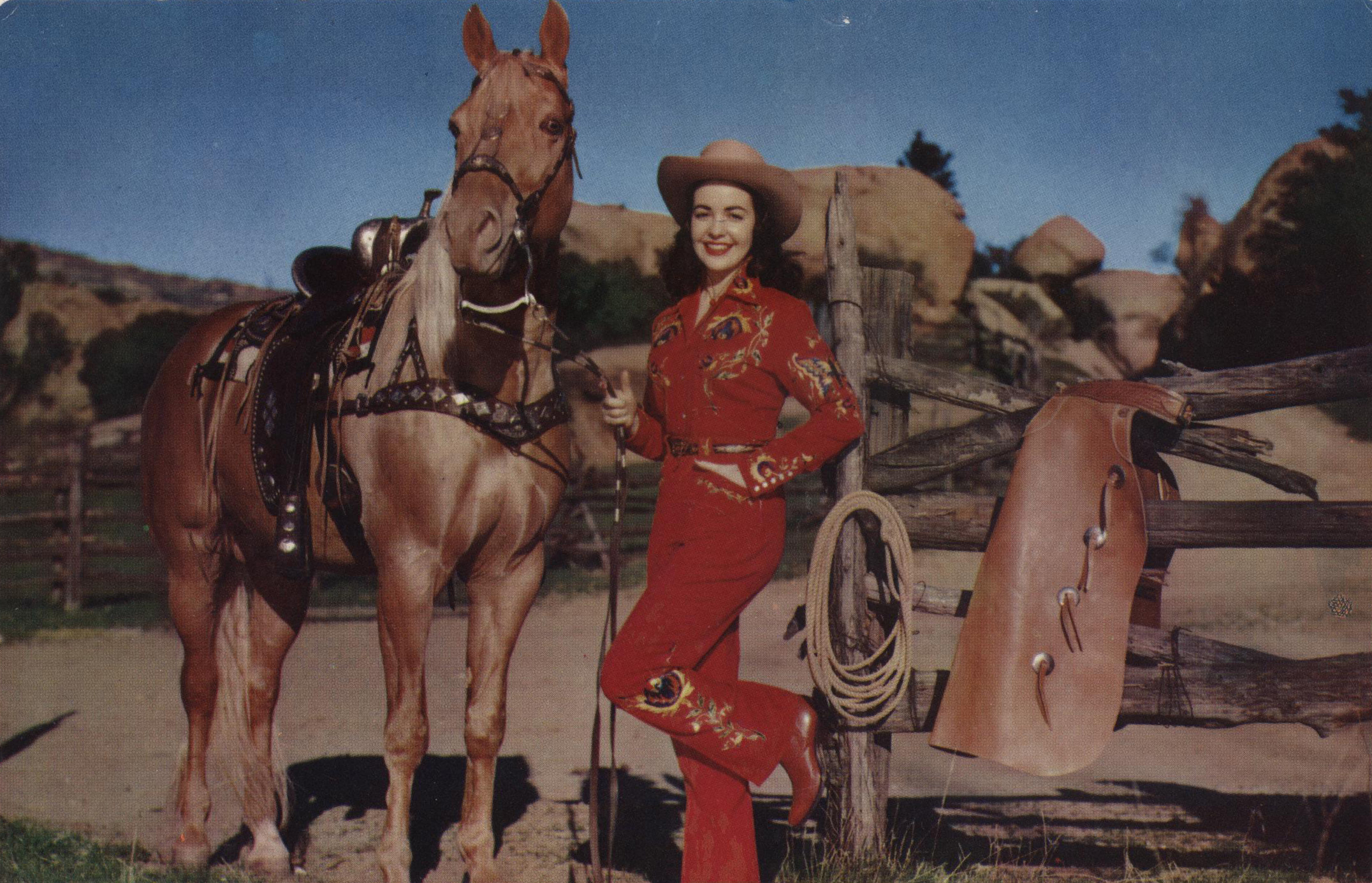 Vintage Cowgirl by amhpics Flickr