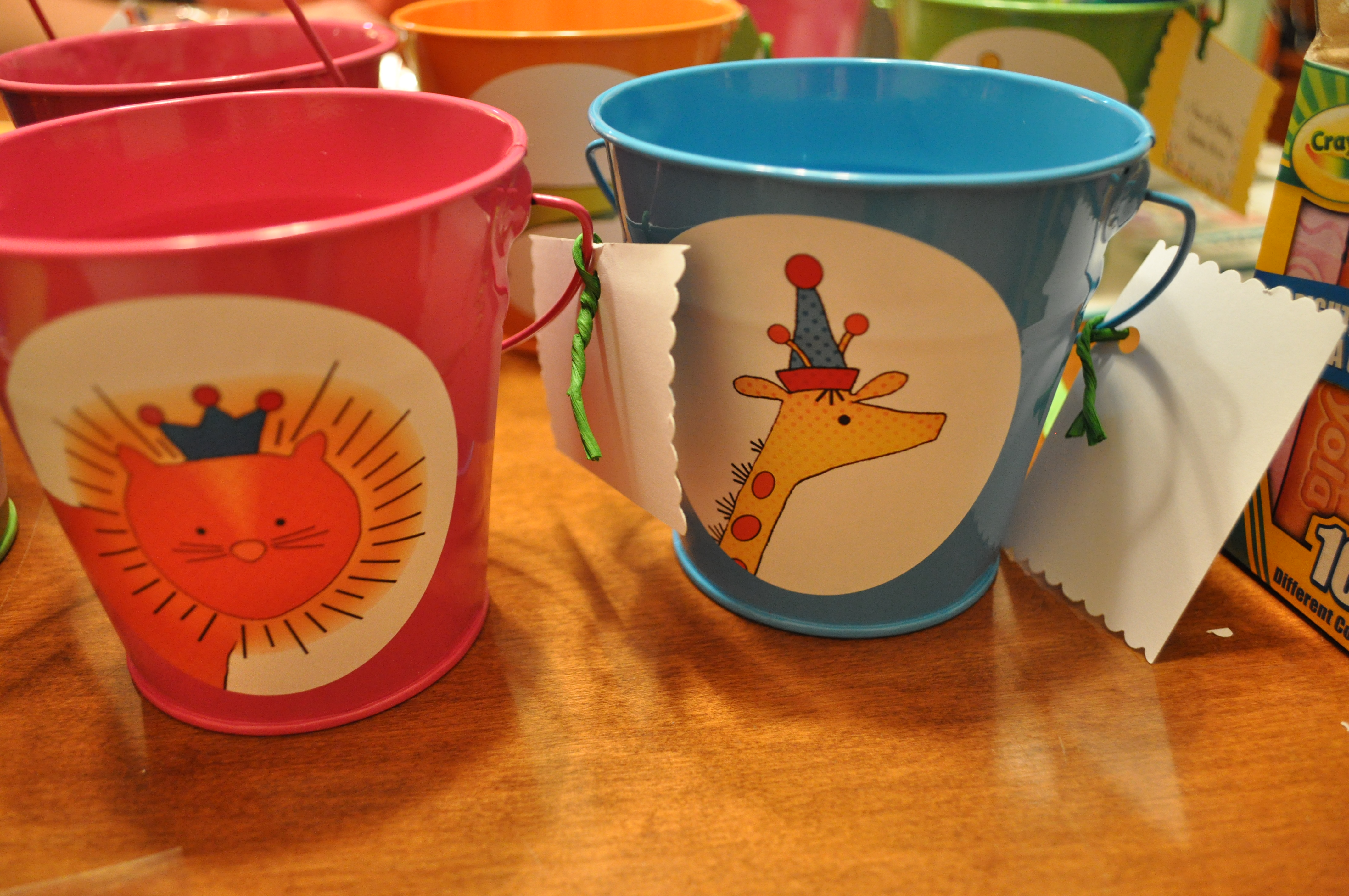 Jennifer Michie Birthday Pails