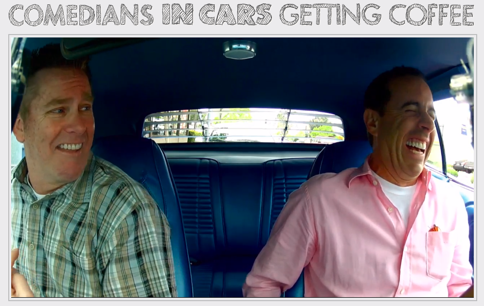 Comedians in Cars Brian Regan