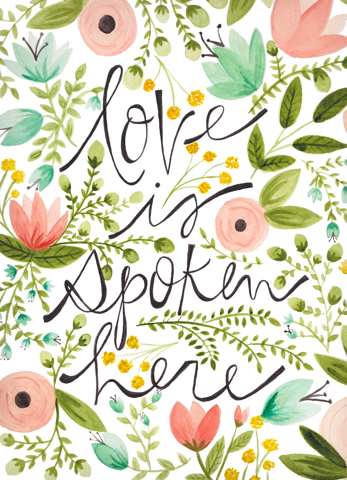 Love is Spoken Here Poster