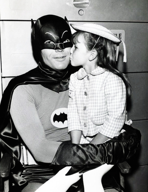 Batman Gets A Kiss