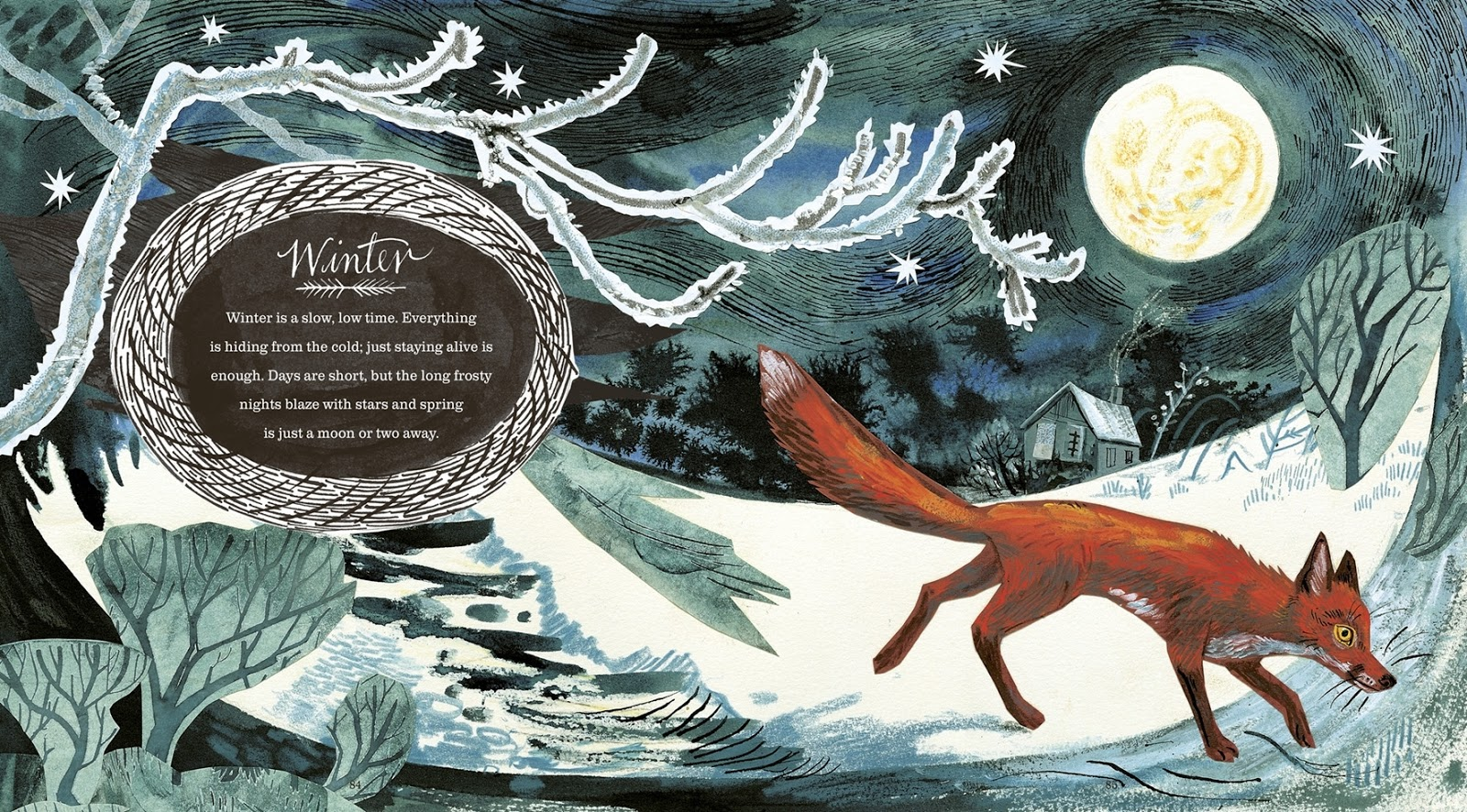Mark Hearld Winter Fox