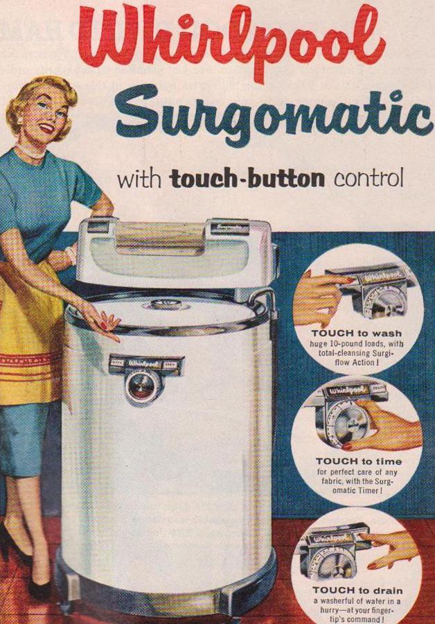 Whirlpool Surgomatic Washing Machine Ad