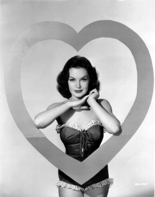 Vintage Valentine Pin-up Dorothy Hart