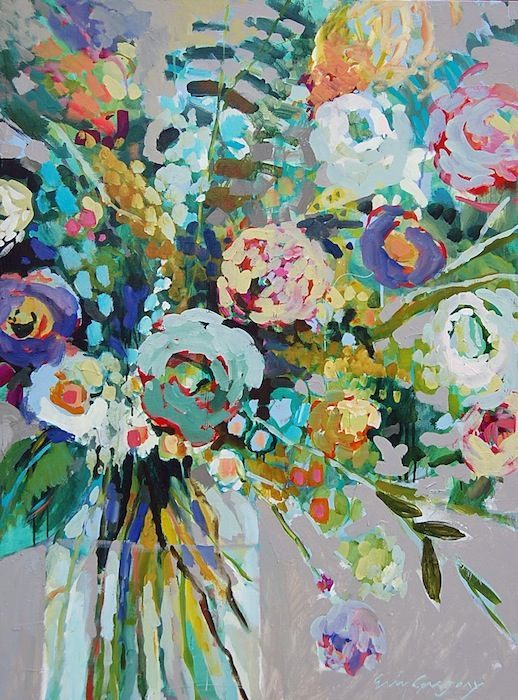 Erin Gregory Flower Painting