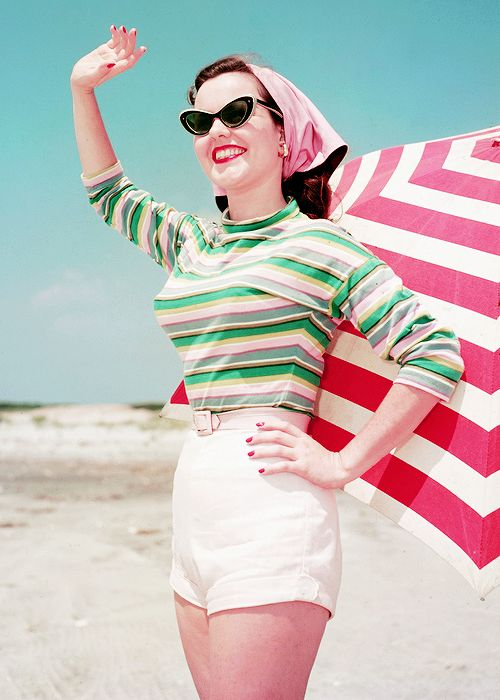 Beach Fashion 1956