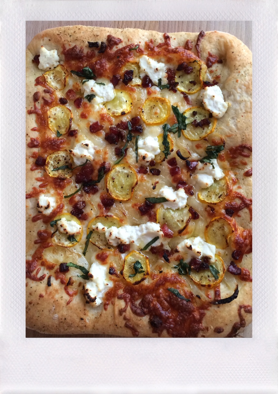Jennifer Michie Summer Squash Pizza