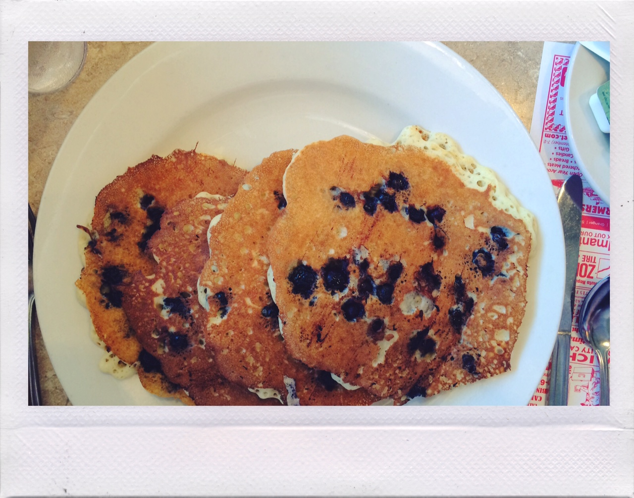 Jennifer Michie Blueberry Pancakes