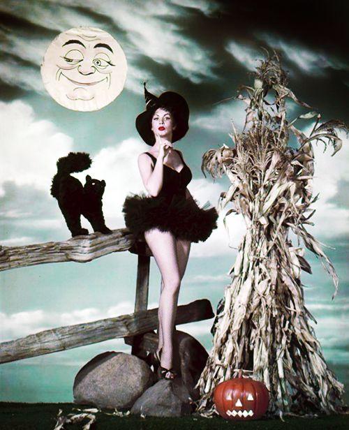 Kathleen Case Halloween c.1950's