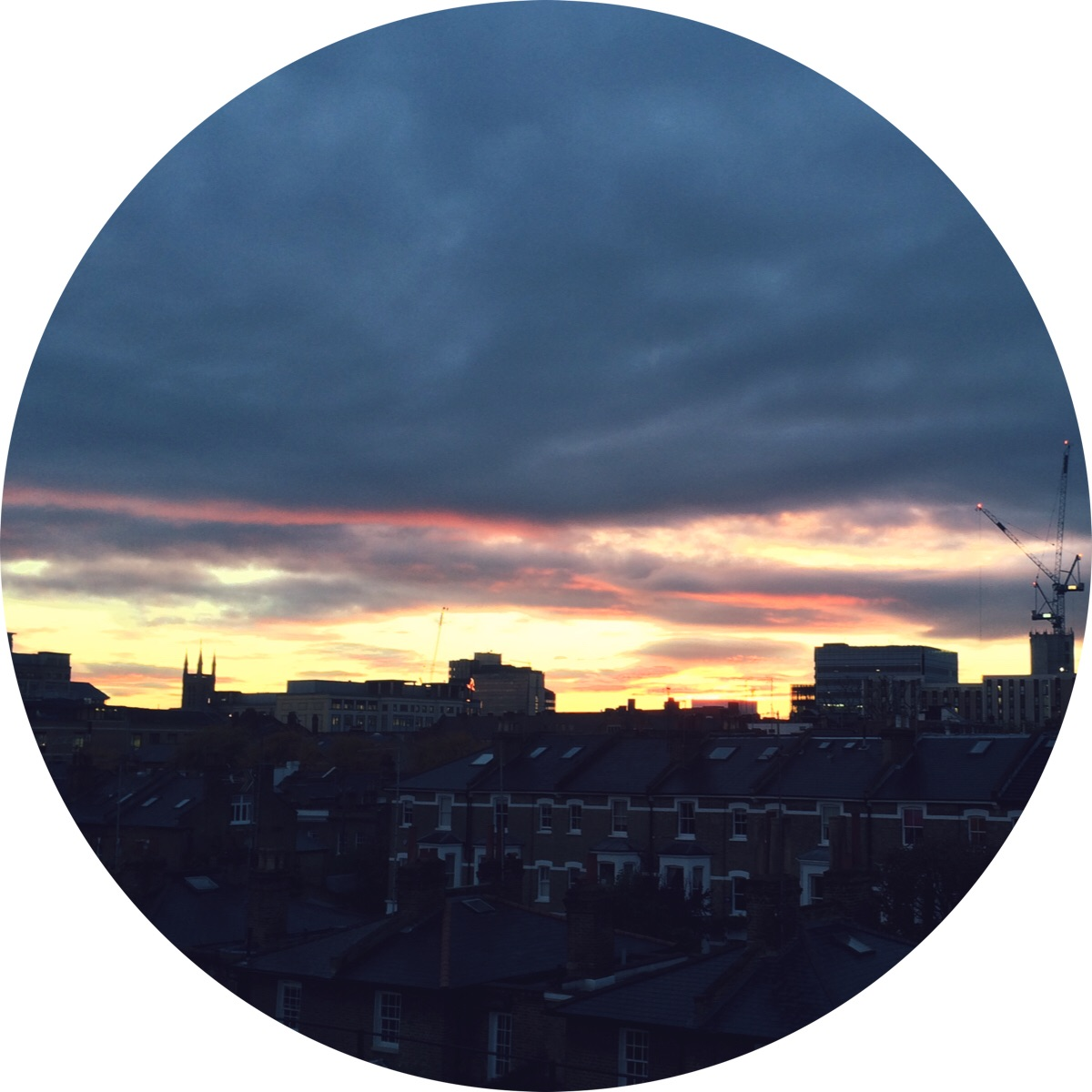 Jennifer Michie Rooftop Sunset