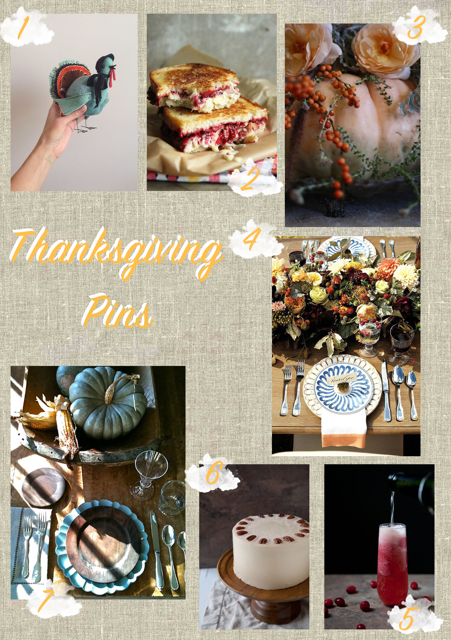 Jennifer Michie Thanksgiving Pins