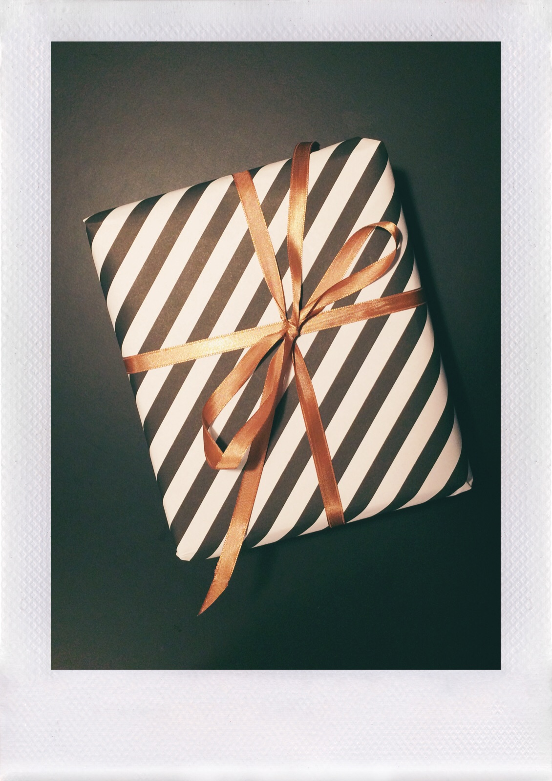 Jennifer Michie Striped Package