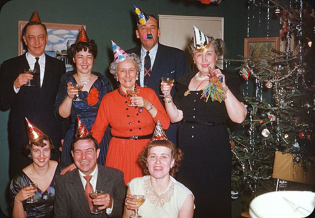 New Year Party 1950s ElectroSpark