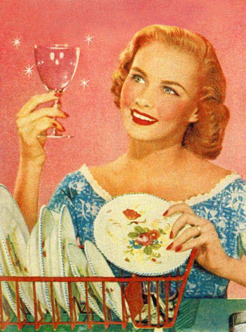 Vintage Dish Ad