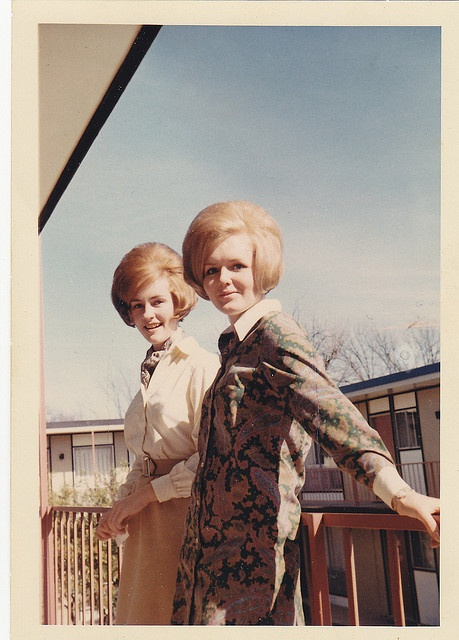 1960s Girls on a Balcony