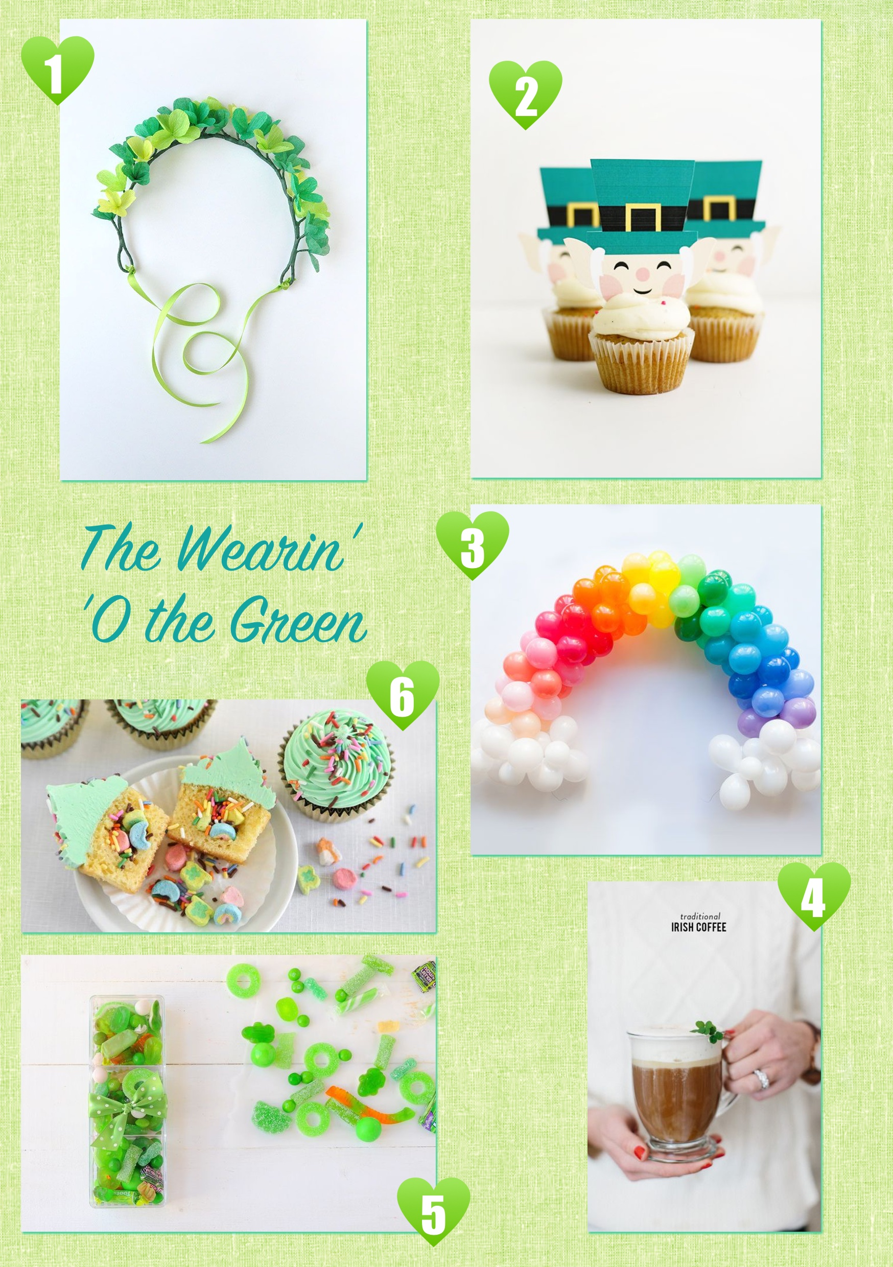 Jennifer Michie St. Patty's Pins