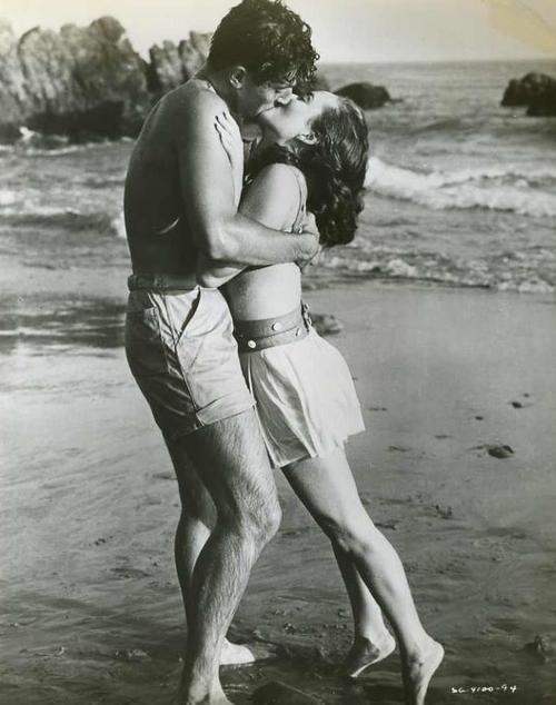 A Beach Kiss