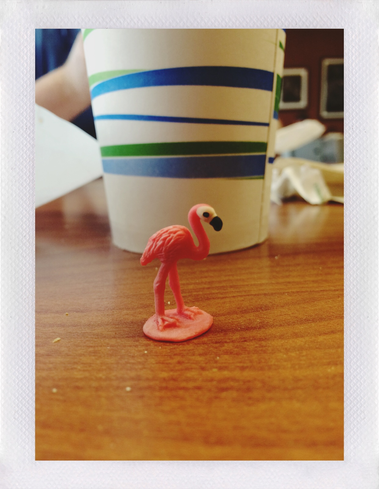 Jennifer Michie Lucky Flamingo
