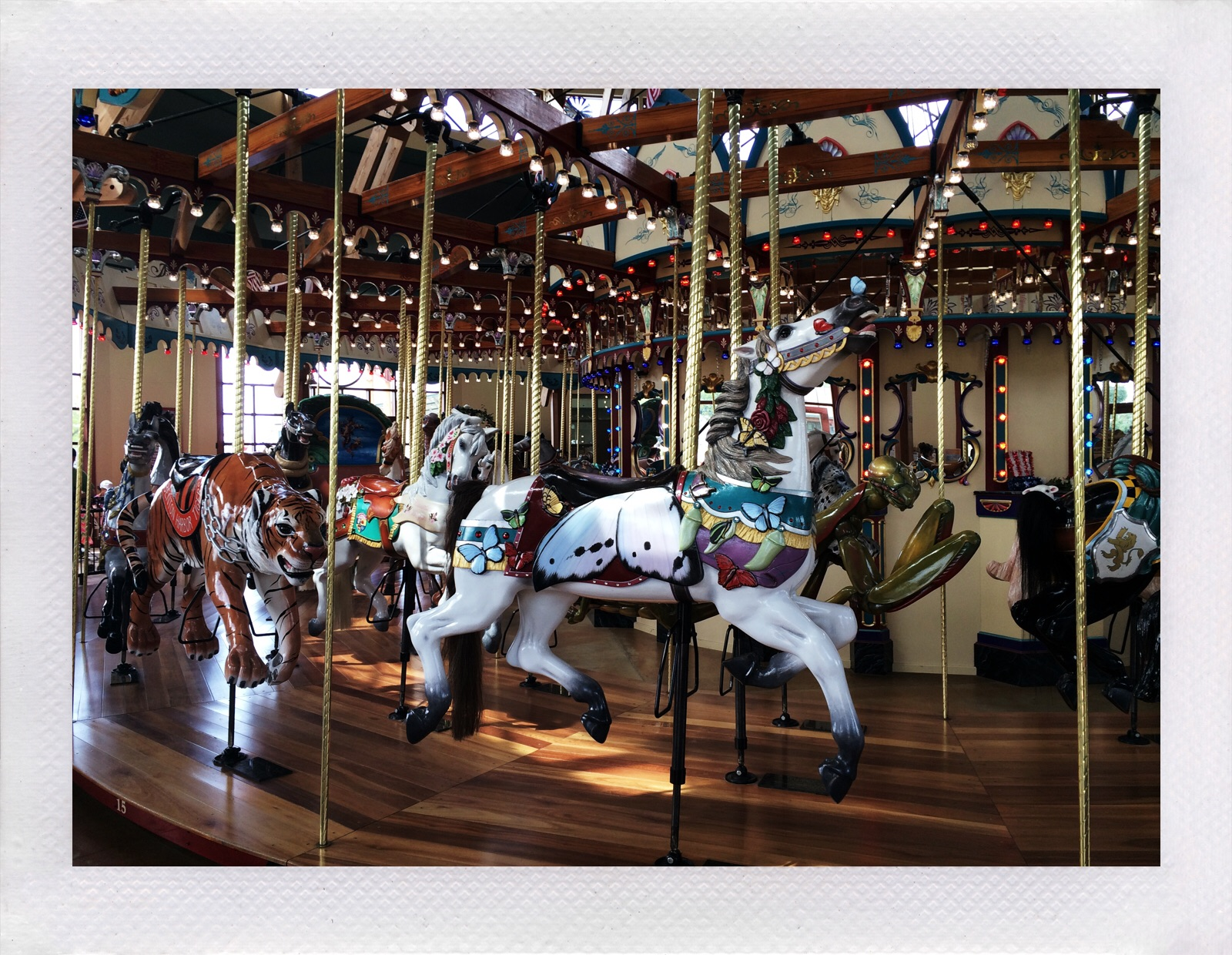 Jennifer Michie Silver Beach Carousel