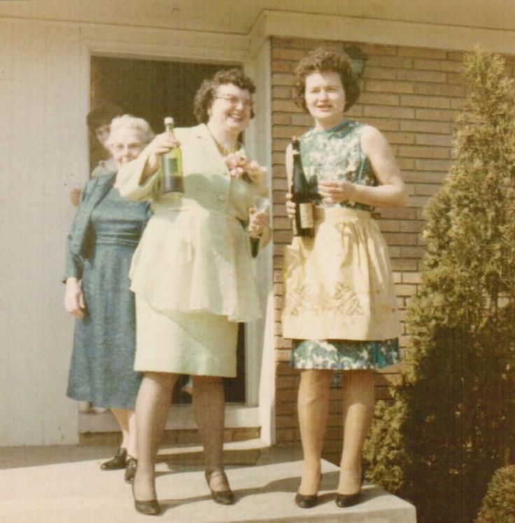 Vintage Women & Wine