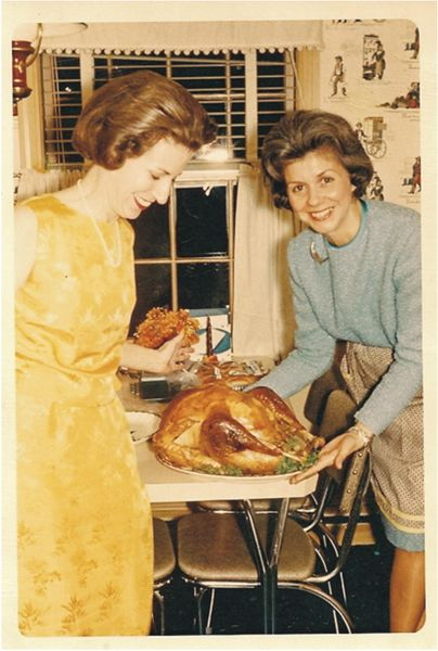 Vintage Thanksgiving Photo