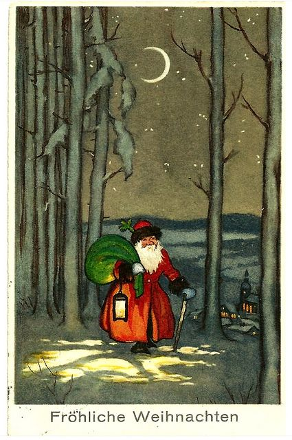 1914 German Christmas Card