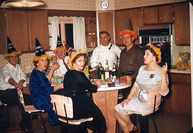 Vintage New Year's Eve 1961