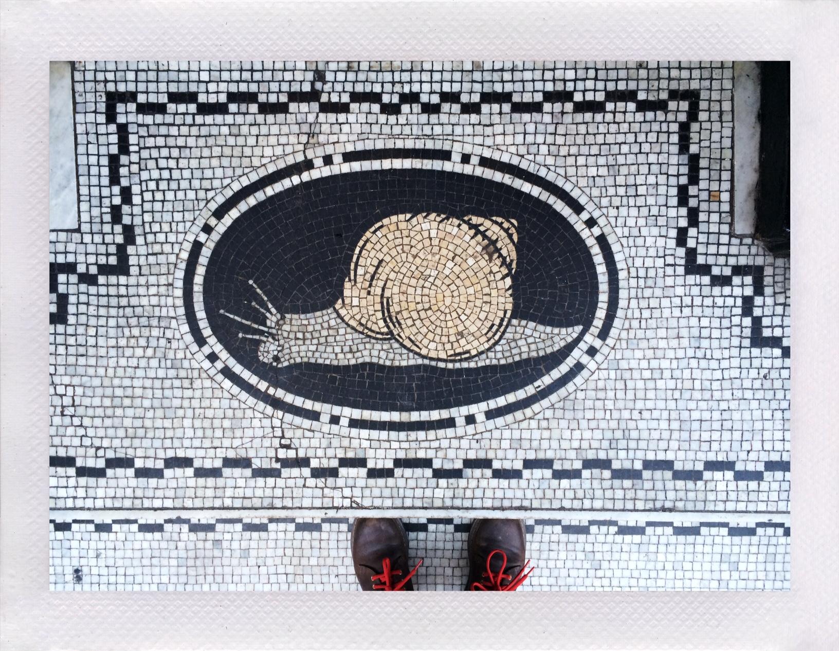 Jennifer Michie Snail Mosaic