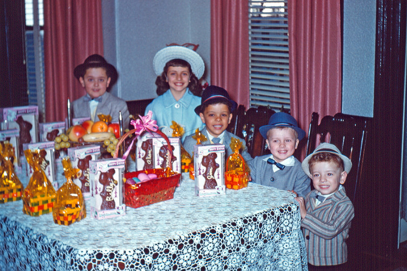 Vintage Easter Photograph April 11th 1959