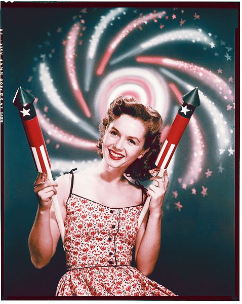 Debbie Reynolds 4th of July