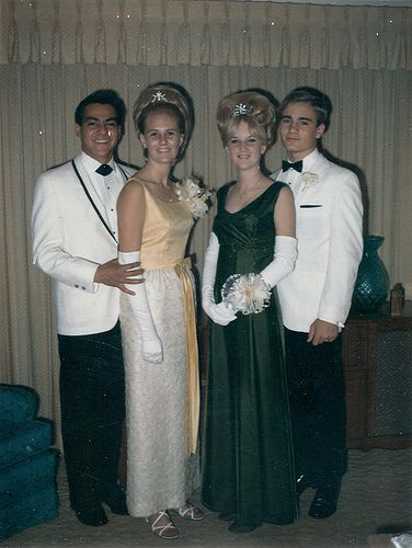 The Norwalk High School Prom in 1968
