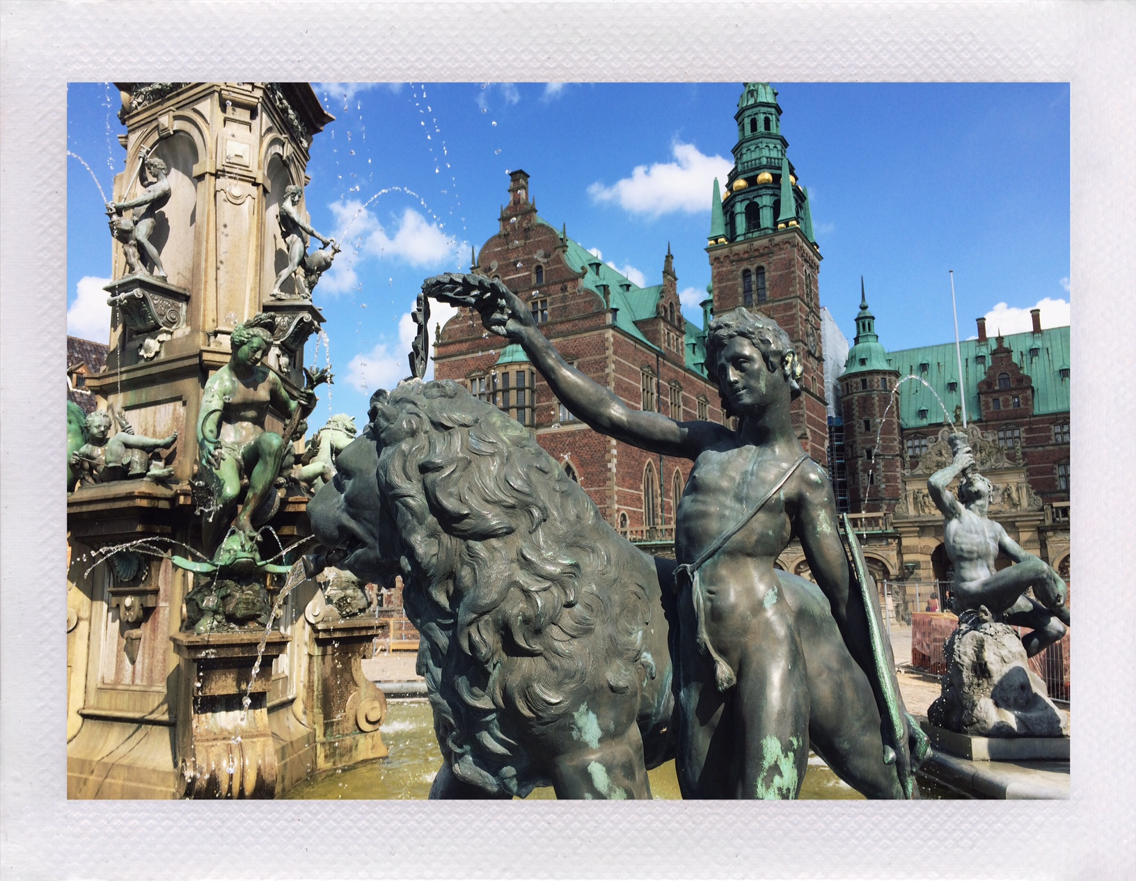 Frederiksborg Castle, Fountain
